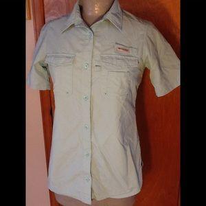 Columbia PFG Bahama II short sleeve shirt. Sz S/P